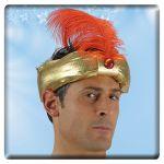 Cappello Principe indiano in tessuto
