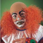 Calotta Clown radicata in fingomma colori assortiti in busta