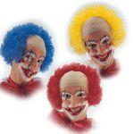 Calotta Clown colori ass.ti in valigetta
