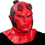 MASCHERA HELLBOY IN LATTICE
