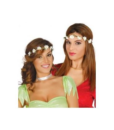 Diadema fiori bianchi piccoli pelatelli for Fiori piccoli bianchi