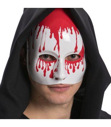 Maschera mezzo viso in plastica