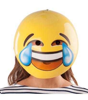 Maschera emozione risata in plastica