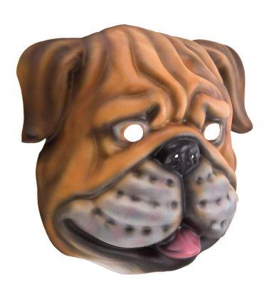 Maschera bulldog in eva