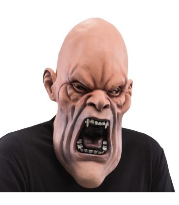 Maschera gigante vampiro arrabbiato in lattice