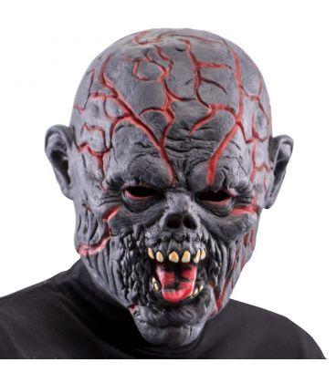 Maschera mostro in lattice crepe luminose (batt. incluse)