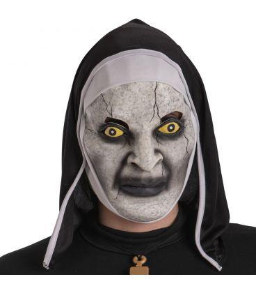 Maschera suora vampiro in lattice cappuccio