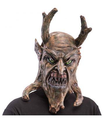 Maschera demone albero in lattice