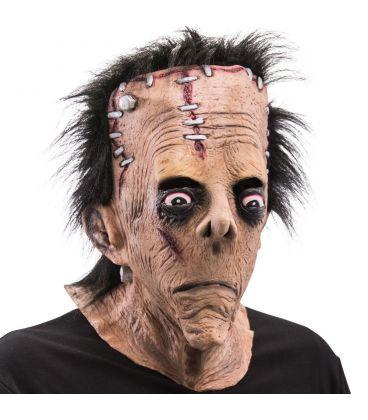 Maschera gigante Frankenstein in lattice capelli