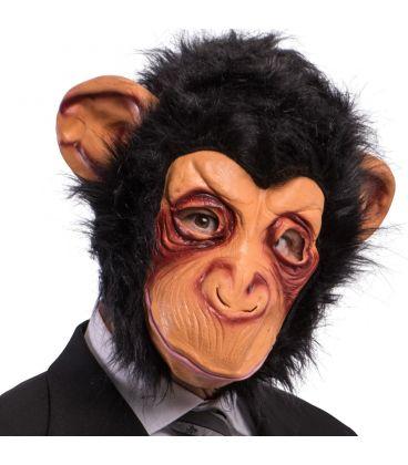 Maschera scimmia in fingomma pelo