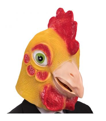 Maschera gallo in fingomma