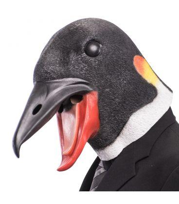 Maschera pinguino in lattice