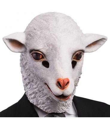 Maschera agnello in lattice