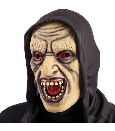Maschera zombie in lattice cappuccio