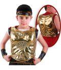Corazza romana piccola oro (schiena) cm. 38x30 ca.