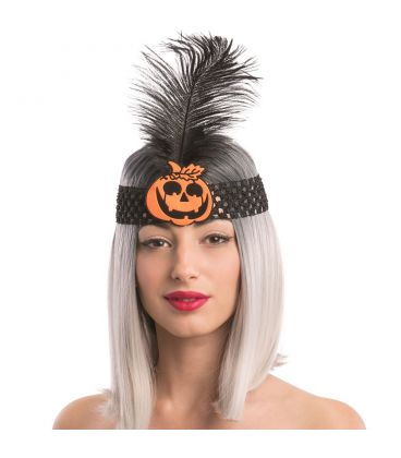 Fascia charleston Halloween zucca