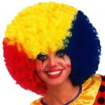 Parrucca super ricciolona 3 colori (gr.190 ca.)