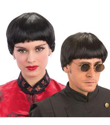 Parrucca corta nera anni '60