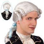 Parrucca cavaliere grigio
