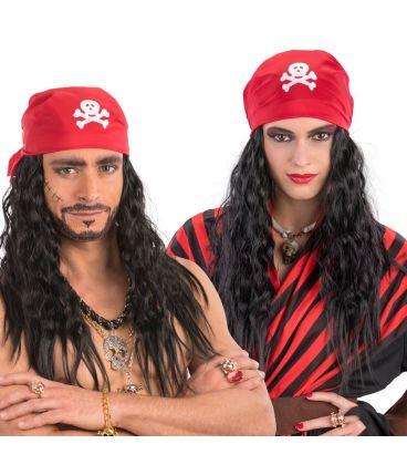 Parrucca pirata bandana
