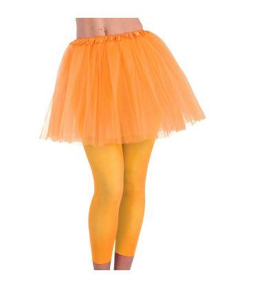 Tut? arancione fluo l. cm. 40 ca. T.U.