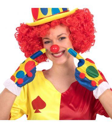 Guanti clown l. cm. 25 ca.