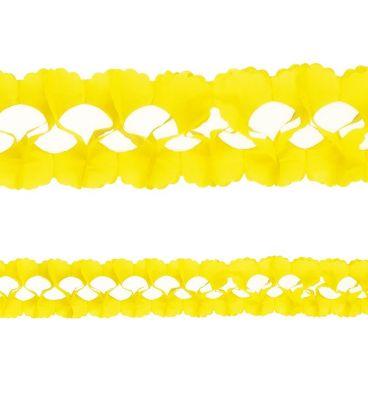 Festone giallo l. mt. 4 ca.