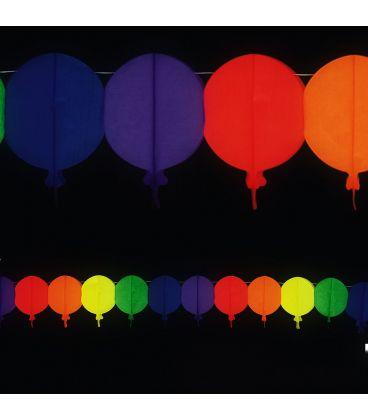 Festone palloncini l. mt. 4 ca.