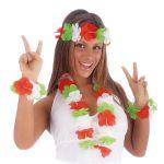 Set Hawaii Italia (collana, frontalino, 2 bracciali)