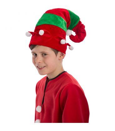 Cappello elfo in velluto pom pon  3ce6abbe1268