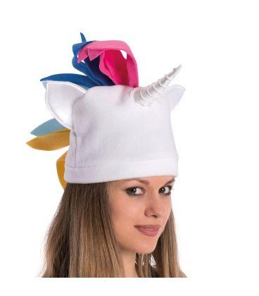 Bianco T In 40 Pile Cappello 12 Unicorno uEuro 8OX0wnPkN
