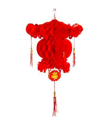 Lanterna cinese in carta h. cm. 45 ca.