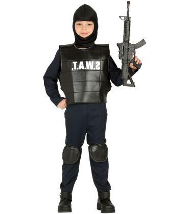 COSTUME SWAT 7-9 ANNI