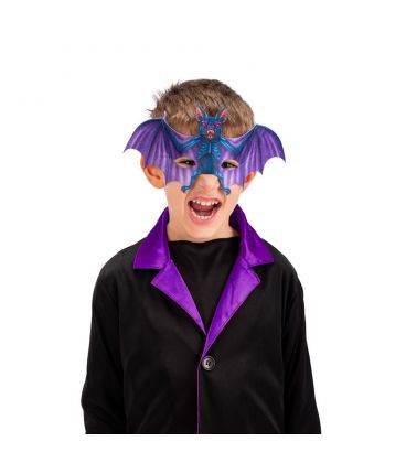 Maschera pipistrello in tessuto