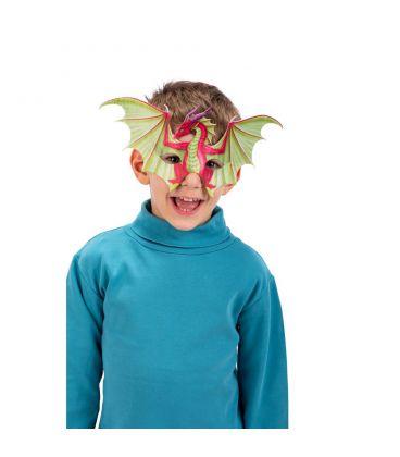 Maschera drago in tessuto