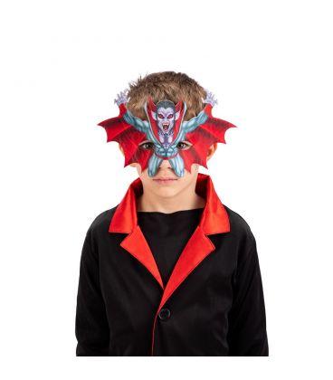 Maschera vampiro in tessuto