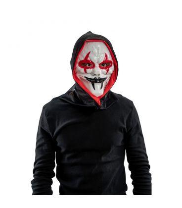 Maschera horror in plastica rigida