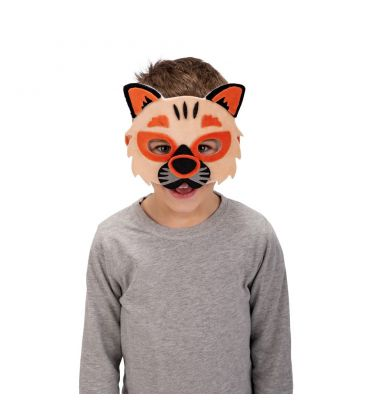 Maschera gattino in vellutino