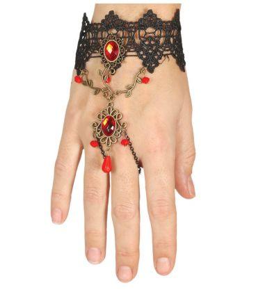 braccialetto con rubini