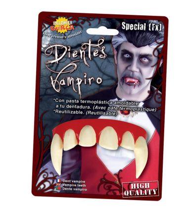 dentiera vampiro con termoplastica