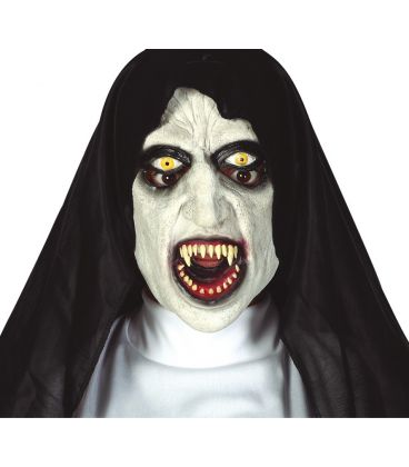 maschera monaca sinistra