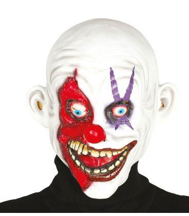 maschera pagliaccio sorridente