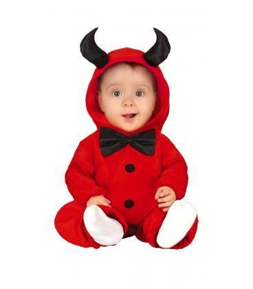 costume diavoletto 6-12 mesi