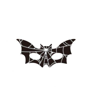6 maschere bimbo pipistrello in carta in busta c/cav.