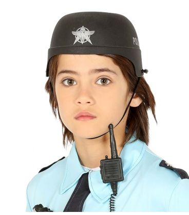 caschetto polizia bambino