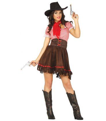 Costume sexy cowgirl