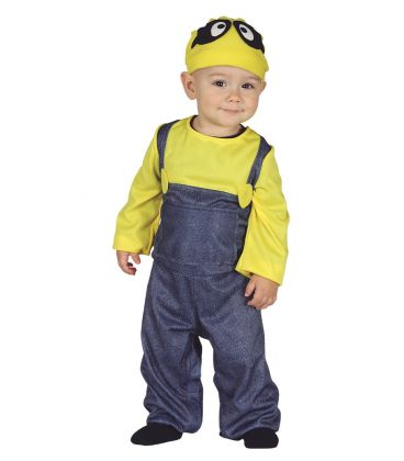 Costume baby minions 6-12 mesi