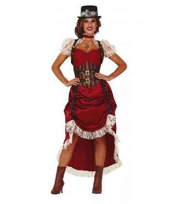 Costume steampunk adulto donna