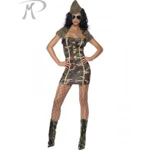 Costumi Carnevale Sexy | SOLDATESSA SEXY Prezzo 51,50 €