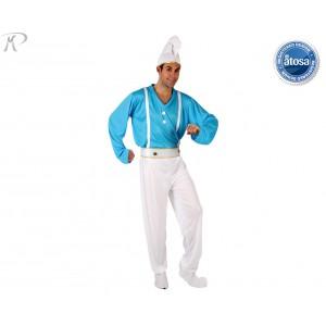 Costumi Carnevale adulto | COSTUME DA PUFFO Prezzo 24,70 €